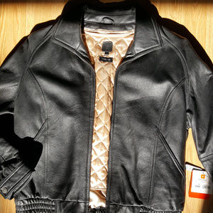 Wilson's Leather Jacket, Size XL (Black)